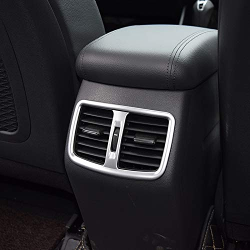 - car Interior-QLND: Car Back Rear Air Condition Outlet Vent Frame Cover Trim Interior Decoration for Hyundai Tucson 2015 2016 2017 2018 Accessories