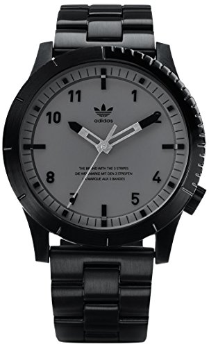 Adidas Men's Analogue Quartz Watch with Stainless Steel Strap Z03-017-00 ()