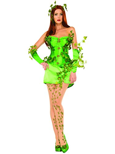 Poison Ivy Costumes Evolution - DC Comics Poison Ivy Deluxe Costume,