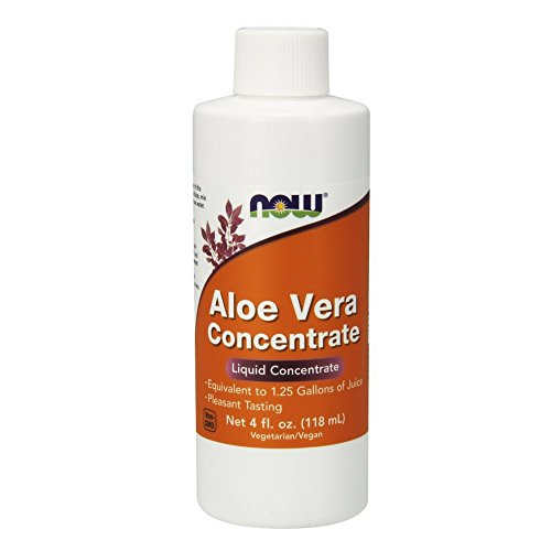 (NOW Aloe Vera Concentrate, 4-Ounces (Pack of 3))