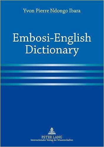 Kindle book download Embosi-English Dictionary 3631624808 iBook