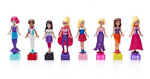 (Mega Bloks Barbie Fashion 8 Mini Figures)