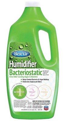 BestAir 3BT-PDQ-6 Original BT Humidifier Bacteriostatic Water Treatment, 32 fl oz, Single Pack, 1, Green (Evaporative Cooler Cleaner)