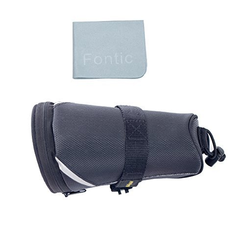 SAHOO Bicycle Repair Tool Set Kit with Saddle Bag Bike Mini Pump Tire Inflator Patch Crowbar All in One by SAHOO (Image #7)