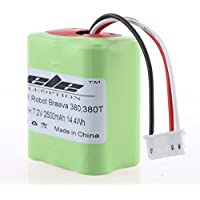 TOPCHANCES 2500mAh Ni-MH 7.2 Volt Replacement Battery for iRobot Braava 380 380T
