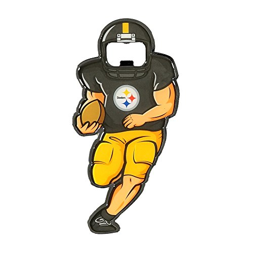 Candle Steelers Pittsburgh Nfl (NFL Pittsburgh Steelers Player Bottle Opener Magnet)