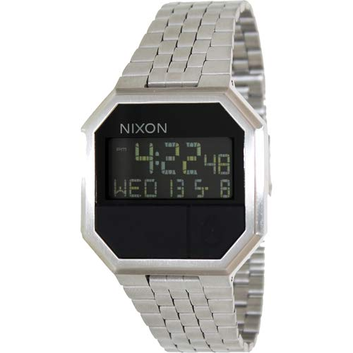 Nixon Mens Re-Run Japanese quartz Stainless Steel watches All Black - Rolex Men Watches Fake
