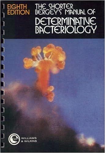 The shorter bergeys manual of determinative bacteriology the shorter bergeys manual of determinative bacteriology 8th edition fandeluxe Gallery