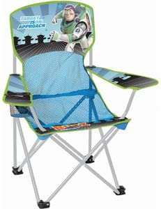 Disney Youth Folding Chair with Armrest and Cup Holder