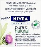 nivea cream small - Nivea Visage Pure & Natural Anti Wrinkle Day Cream 50ml [European Import] - 4 Count