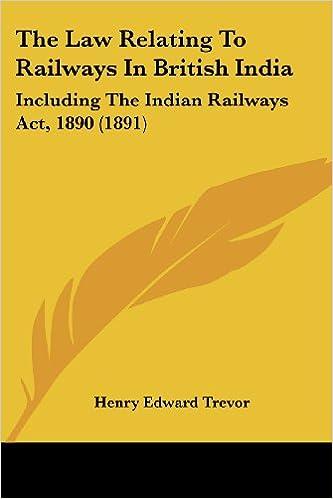 Indian Railway Act Pdf