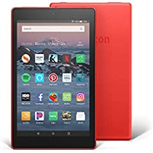 "All-New Fire HD 8 Tablet | Hands-Free with Alexa | 8"" HD Display, 32 GB, Punch Red - with Special Offers"