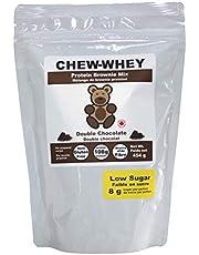Chew-whey Gluten Free Low Sugar Protein Brownie Mix - Double Chocolate
