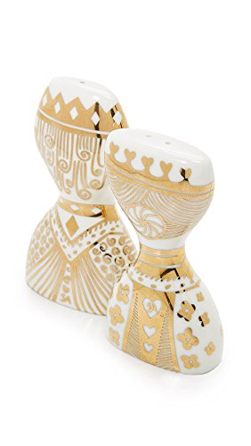 Jonathan adler king and queen salt and pepper shakers import it all - Jonathan adler salt and pepper shakers ...