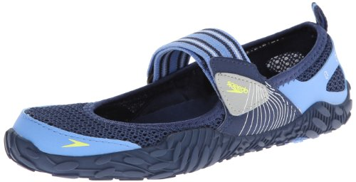 Speedo Women's Offshore Strap Amphibious Water Shoe,Insignia Blue/Provence,8 M US