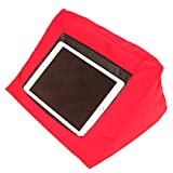 Tablet Pillow Holder for iPad, Comfortable Pillow Used in Bed Sofa Car Travelling Available in 4 Colors
