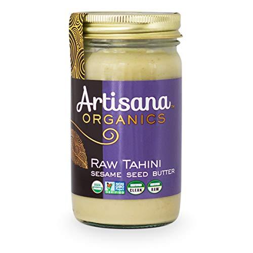 Organic Sesame Butter - Artisana Organics Raw Tahini Sesame Seed Butter (14 oz, 14 oz)