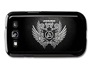 AMAF ? Accessories Linkin Park Black and White Wings Logo case for Samsung Galaxy S3