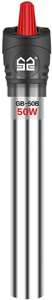 Acuario Calentador de 300w, Acuario de agua Termostato Calentadores, temperatura ajustable calentador sumergible de acuario, mini tanque de pescados de calentadores para agua dulce y agua marina,100W