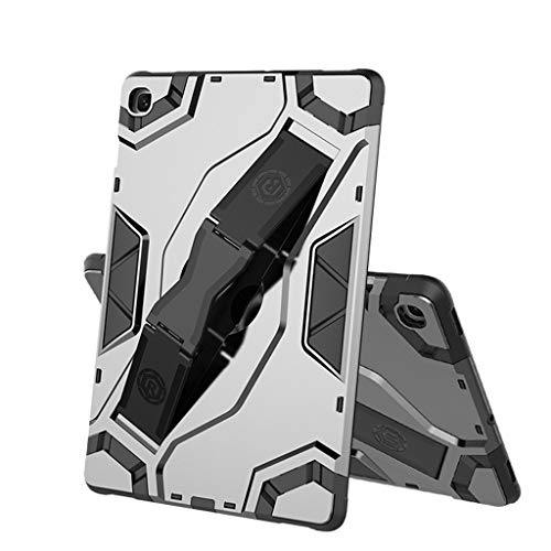QUICATCH Compatible with Samsung Galaxy Tab A SM-P200/P205 8.0 inch Case 2019 New Hard TPU Tablet Case Slim Cover Kickstand (Gray)