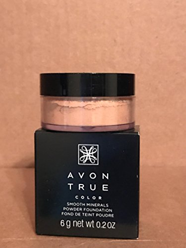 Avon True Color Smooth Minerals Powder Foundation MEDIUM BEIGE