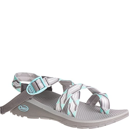Chaco Women s Z/Cloud 2 Sandal-Wide-Candy Gray Candy Gray - Plaid Sandals Wedge
