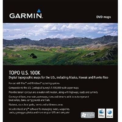Garmin TOPO US 100K DVD GPS -