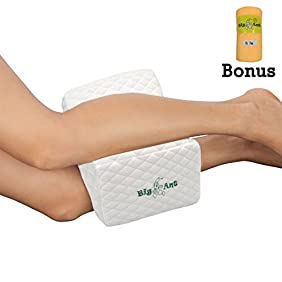 Big Ant Memory Foam Wedge Contour Orthopedic Leg Pillow with Removable Cover