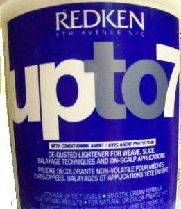 Redken Up to 7 De-Dusted Lightener - 32 oz