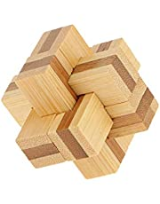 Tenlacum Houten Kongming Lock Toy Chinese Puzzel Game Familie Home Play Kids Gift # 3