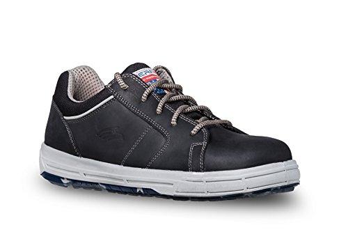 Perf Sicherheitsschuh Sneaker Boston Low S3 Leicht Sportlich Schwarz