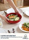 LE TAUCI Pasta Bowls 45 Ounce, Ceramic Salad