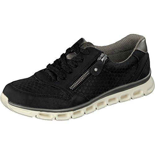 Relife Damen Schuhe Sneaker Halbschuhe Schnürer 8067-18708-03 in 3 Farben Black