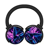 Raven Bird Bluetooth Headphones Computer Gaming Sleeping Headset Over Ear Earphone Perfect for Business/Office/Driving