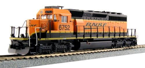 Kato USA Model Train Products 6752 EMD SD40 2 Mid BNSF Swoosh Locomotive ()
