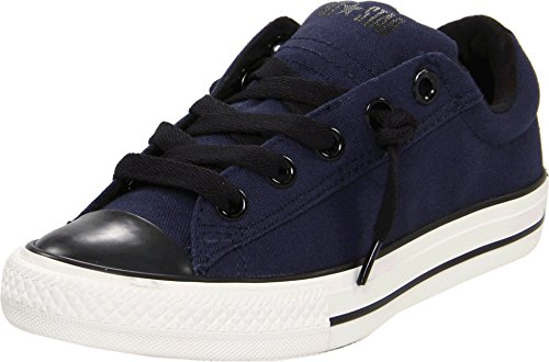 Converse Chuck Taylor® All Star® Street Ox Slip, Athletic Navy/Black, 3 M US Little ()