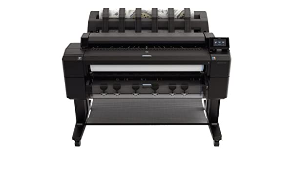 HP Designjet T2500 36-in eMFP - Impresora de gran formato (60 x A0 pph, 120 pph, 2400 x 1200 DPI, HP-GL/2, HP-RTL, PCL 3, PDF 1.7, TIFF, UFRII-LT, Negro, Cian, Gris, Magenta,