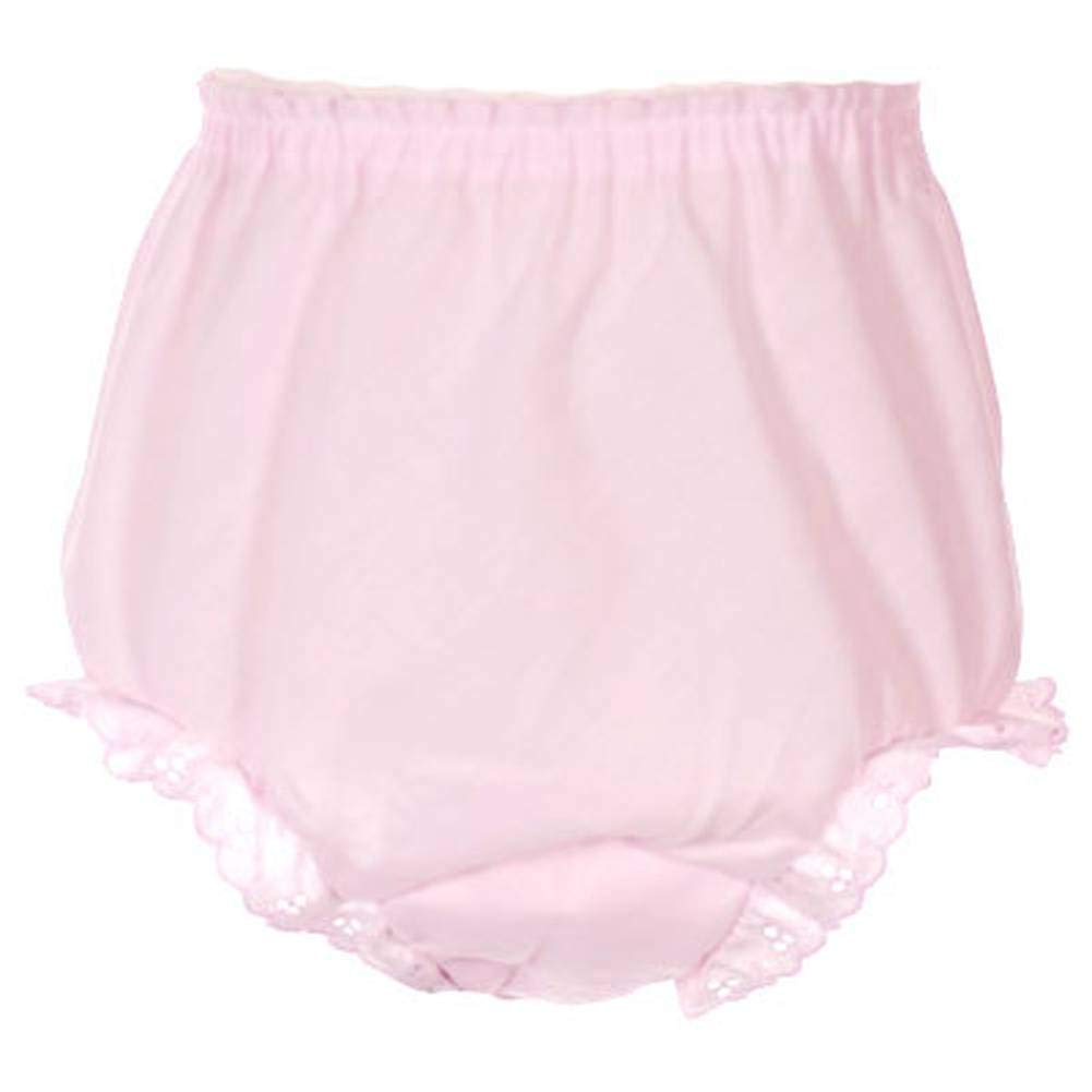 Pink Bloomers Panties Undergarment-Infant Toddler and Girls Sizes