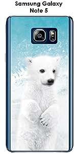Carcasa Samsung Galaxy Note 5Design babe' Bear