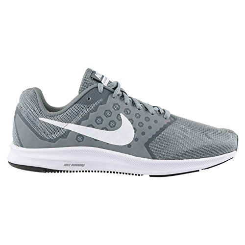 55875d3717b2 Galleon - Nike Women s Downshifter 7 Running Shoe Stealth White Cool  Grey Black Size 9 M US