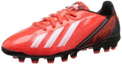 adidas F10 Traxion AG Q33866 Jungen Fußballschuhe Rot (infrared / running white ftw / black 1)