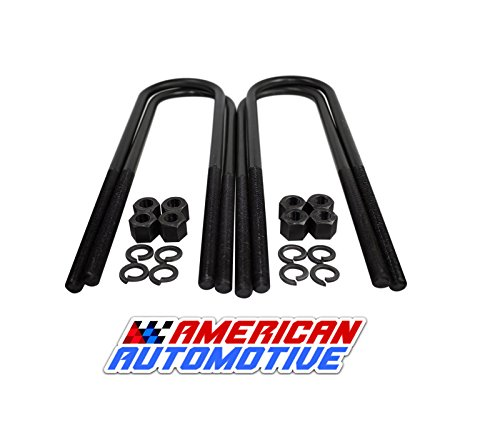 American Automotive Ram 2500 3500 4WD 1-2 Rear Suspension Lift U Bolts 4 PCS 15.75