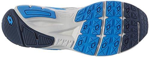 Lotto Speedride 600, Zapatillas de Running para Hombre Gris (Slv Mt/blu Avio)