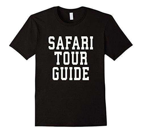 Mens Safari Tour Guide Halloween TShirt Medium (Male Tour Guide Costume)