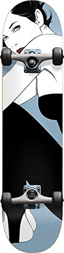 (Darkstar Skateboards Full Nagel Metallic Dust Complete Skateboard - 7.75