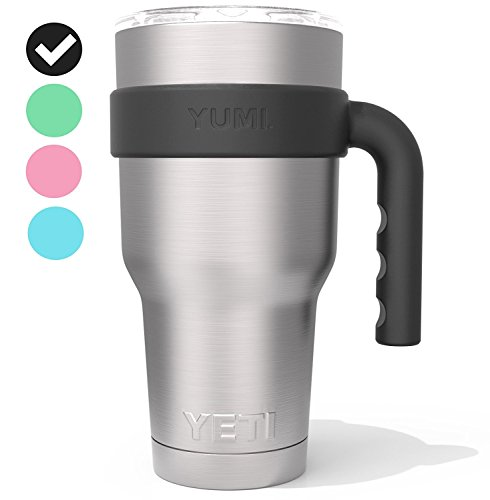 The Original YUMI. Handle Perfectly Fits All 30 Ounce Yeti Type Tumblers. Exclusively Designed in Scandinavia.