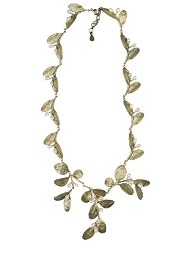 ''Boxwood'' Contour Necklace by Michael Michaud for Silver Seasons by Michael Michaud