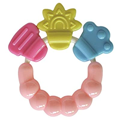 4U-Lucky Baby Rattle Toys Teether, Color Random : Baby