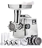 STX INTERNATIONAL Megaforce Model STX-3000-MF Patented Air Cooled Electric Meat Grinder, 3 Cutting