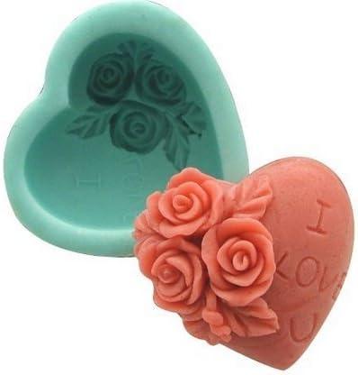 Allforhome - Moldes de silicona para hacer jabón casero con forma ...